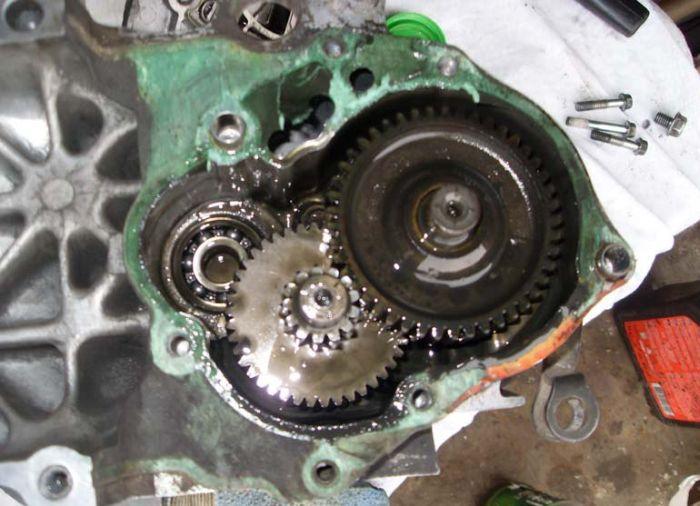 Восстановление мотороллера (24 фото)