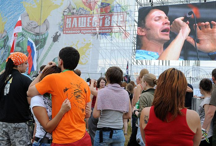 """Фестиваль """"Нашествие"""" 2012 (45 фото)"""