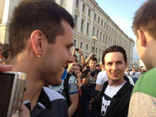 Встреча пользователей «ВКонтакте» и фотосессия топ-моделей (22 фото)
