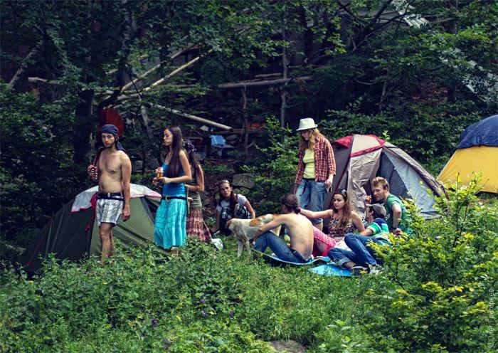 Шипот 2012 - фестиваль неформальной публики и хиппи (59 фото)