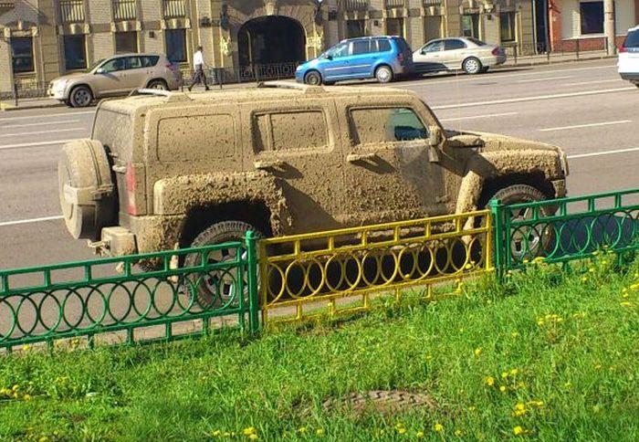 Пора помыть машину (3 фото)