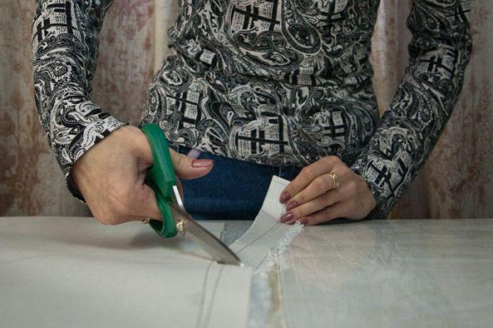 Ручное производство зимних пуховиков (50 фото)