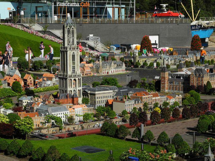 Удивительный миниатюрный город (49 фото)