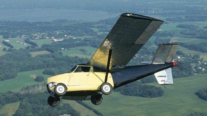 Миллион долларов за летающий автомобиль (4 фото)