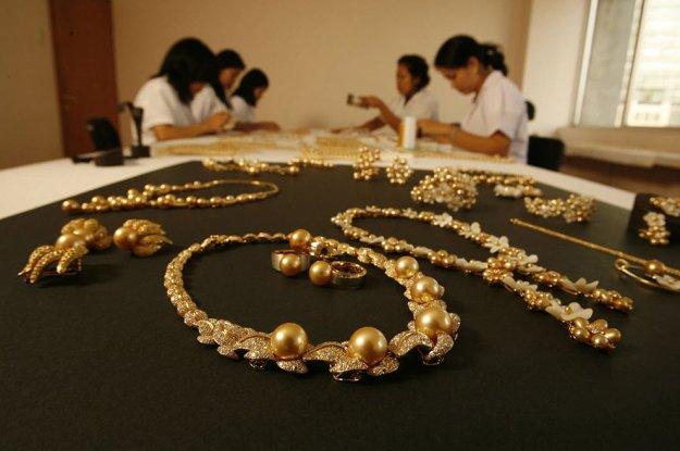 Удивительный золотой жемчуг (23 фото)