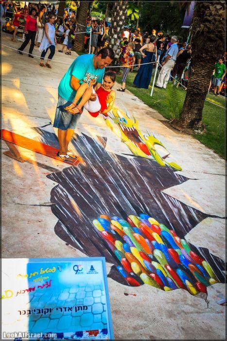 Фестиваль 3D-граффити (22 фото)