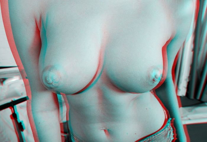 Грудь в формате 3D (12 фото)