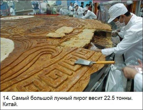ТОП-25 самых гигантских блюд в мире (25 фото)