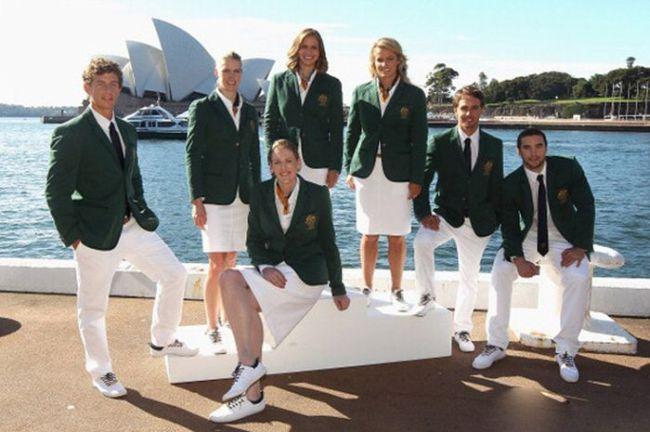 Олимпийская форма спортсменов разных стран мира (12 фото)