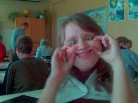 Смешные и странные выражения лиц (79 фото)