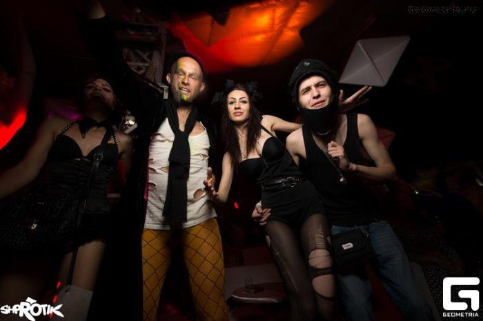 Эпатажная публика с вечеринки Loshadka (58 фото)