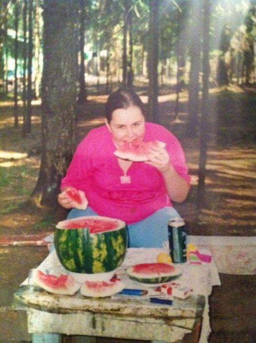 Перевоплощение из толстушки в стройную красавицу (27 фото)