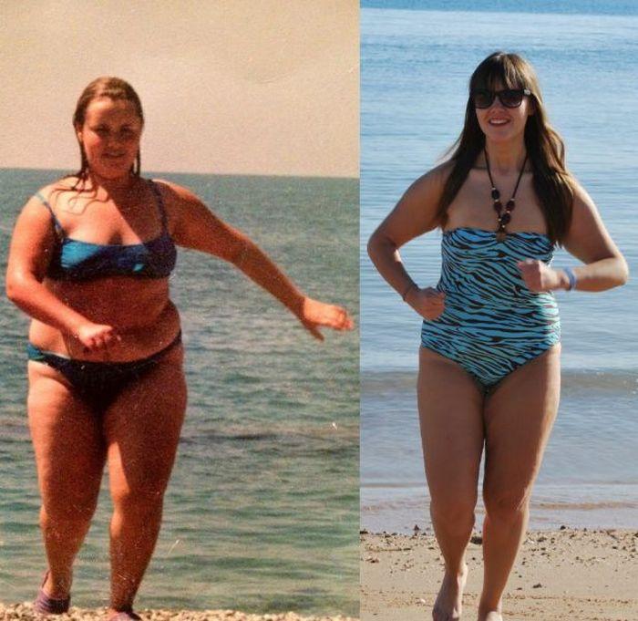 Удивительное похудение  (27 фото)