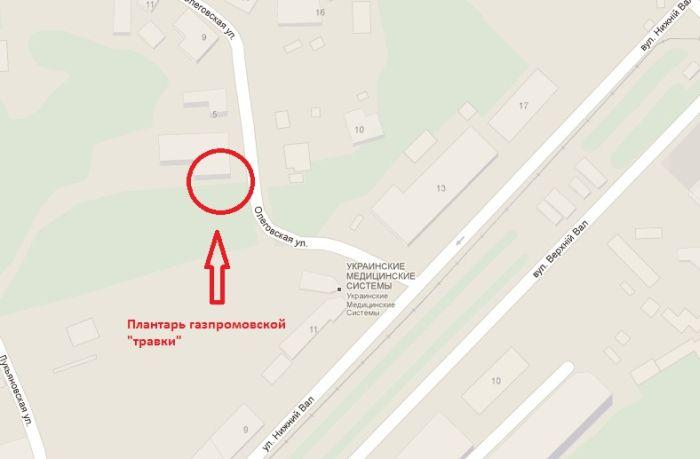 Что скрывается на заднем дворе офиса Газпрома (5 фото + видео)