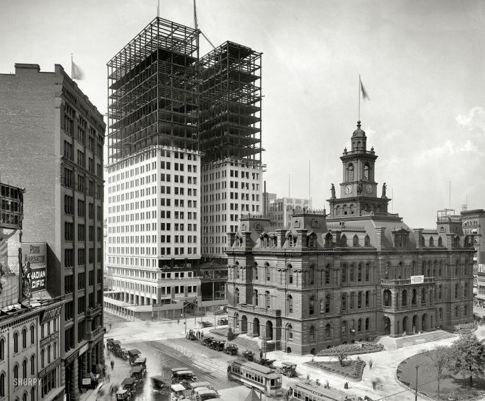 100 yıl önce Amerika 1870-1920 (100 Fotograf)