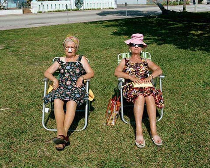 Богатые пенсионеры Майами (25 фото)