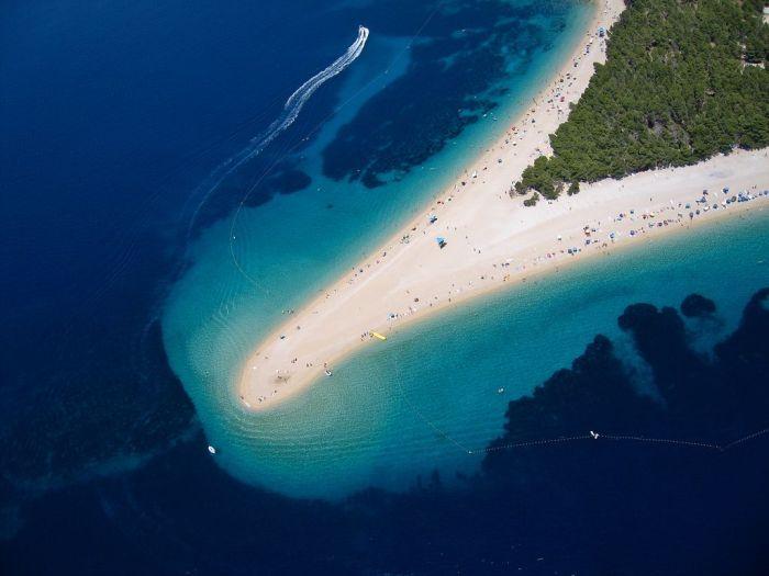 Hırvatistan'ın Zlatni Rat (Altın Boynuz)Sahili (6 Fotograf)