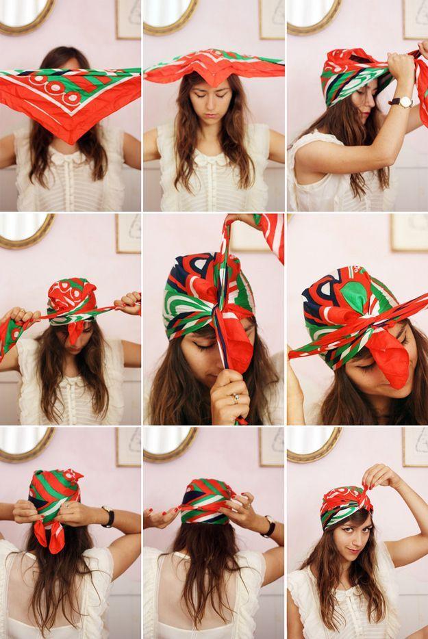 Креативные женские прически (27 фото)