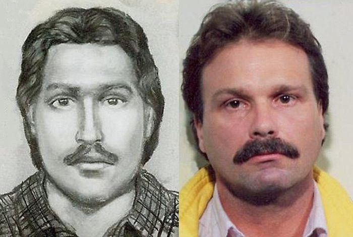 Полицейские портреты преступников (9 фото)