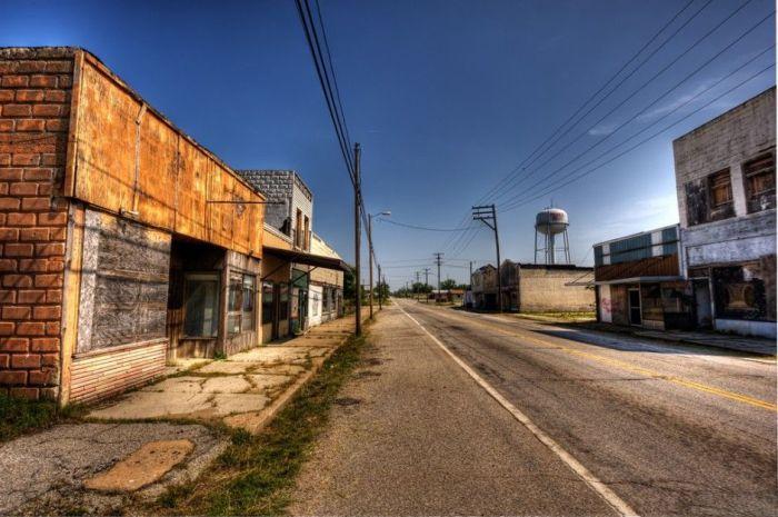 Заброшенные города в формате HDR (27 фото)
