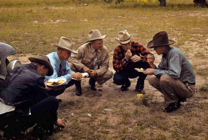 Цветные фотографии Америки 40х годов (100 фото)