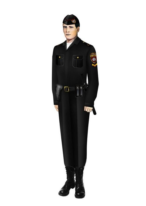 Знаменитости в новой полицейской форме (17 фото)