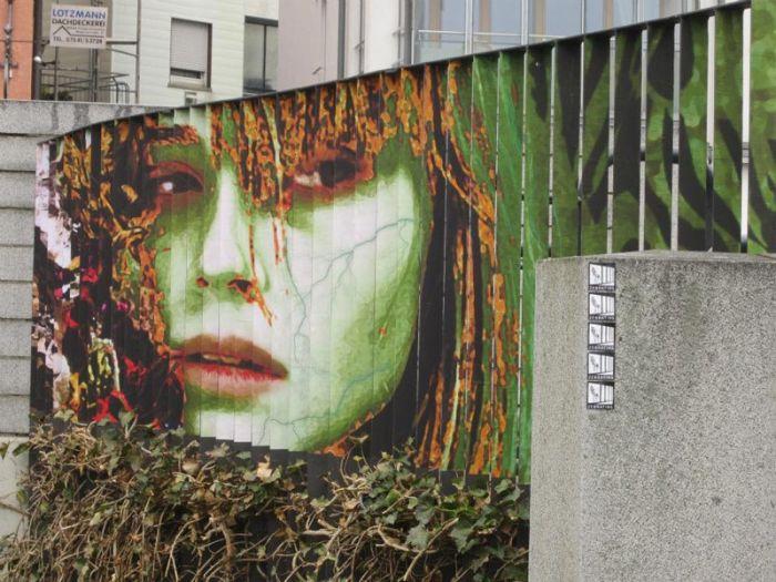 Удивительный стрит-арт, видимый под нужным углом (20 фото)