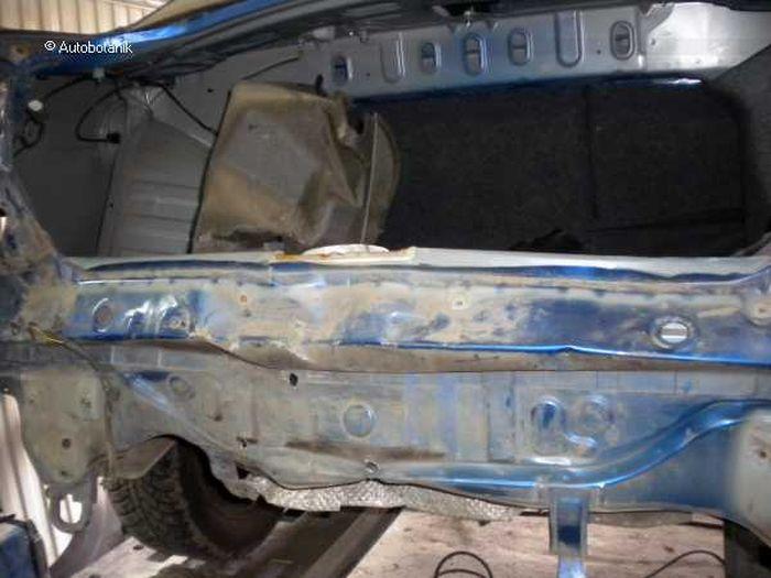 Восстановление Mitsubishi Lancer (52 фото)