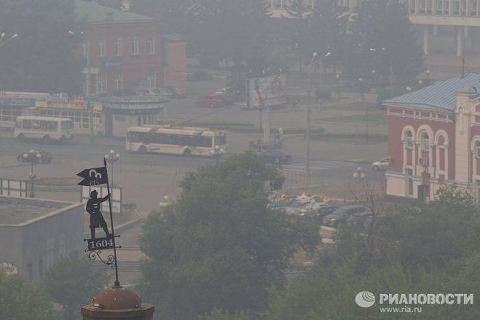 Серьезные пожары в Сибири (36 фото)