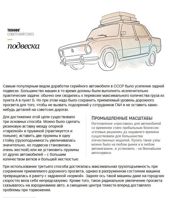 Тюнинг автомобилей по-русски (10 картинок + текст)