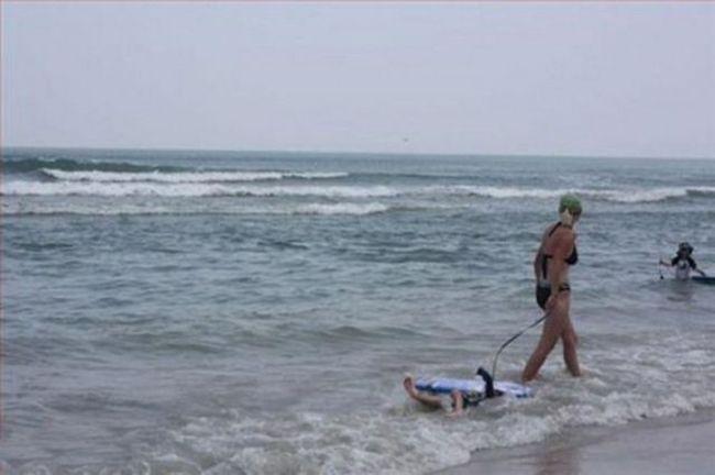 Летние курьезы на пляже (37 фото)