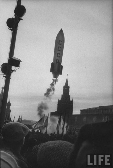 Жизнь в столице 1962 года (38 фото)