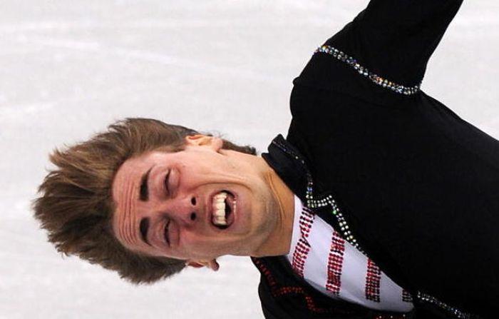 Прикольные выражения лиц в спорте (35 фото)
