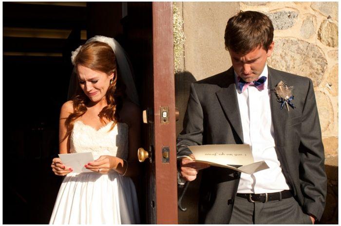 Реакция мужчины и женщины на любовное письмо (3 фото)