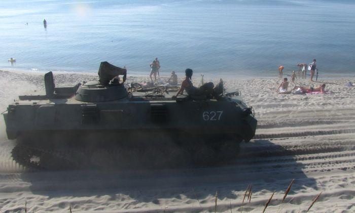 Пляж в Калининградской области (6 фото)