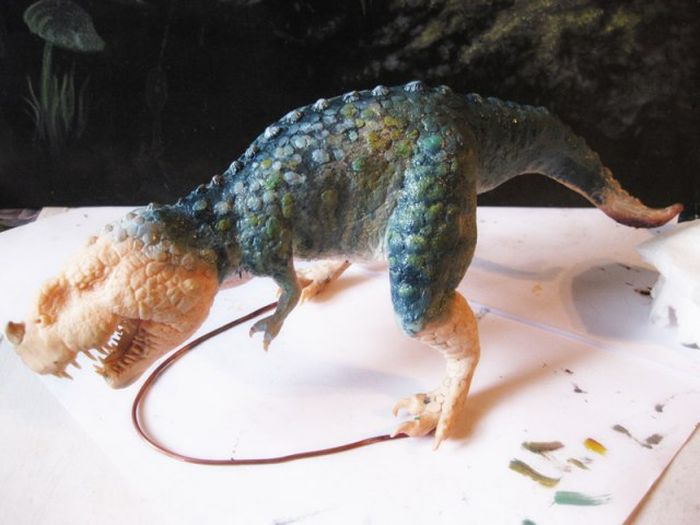 Крутой динозавр своими руками (49 фото)