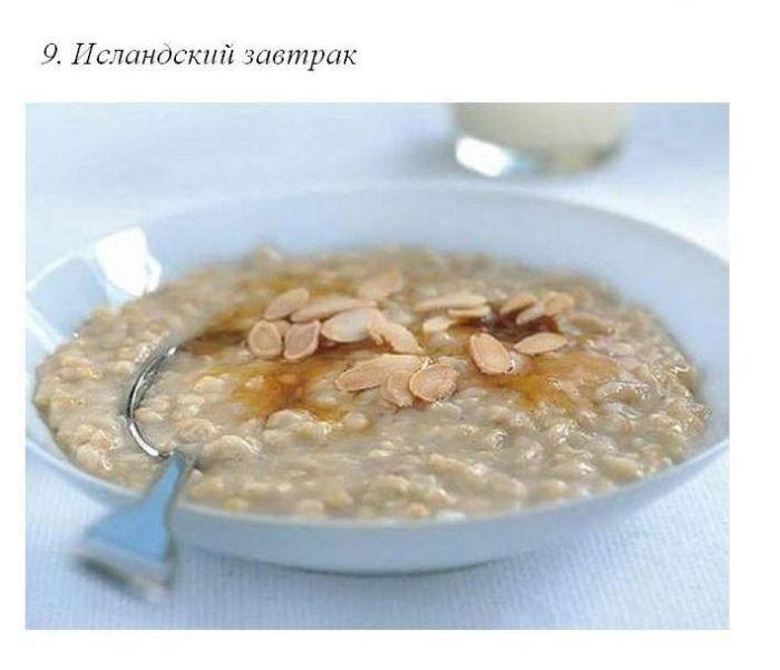 Завтраки в разных странах мира (50 фото)