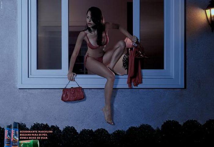 Откровенная реклама со всего мира (70 фото)