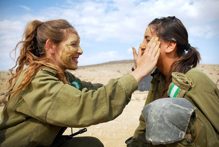 Девушки армии Израиля (29 фото)