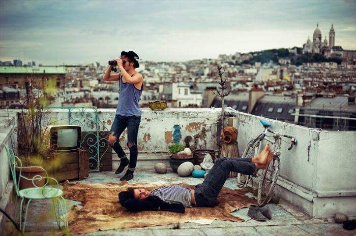Как живут хипстеры во Франции (31 фото)