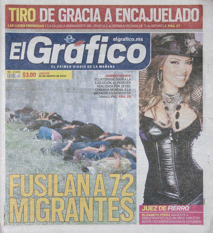 Контраст в мексиканской прессе (9 фото)