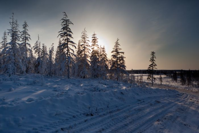 Леденящая душу красота Чукотки (41 фото)
