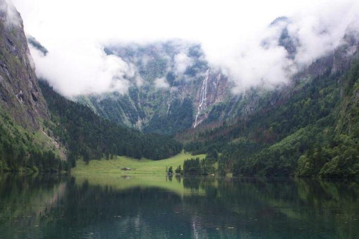 Невероятно красивое озеро Оберзее в Германии (42 фото)