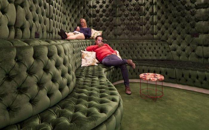 Офис корпорации Google в Лондоне (24 фото)