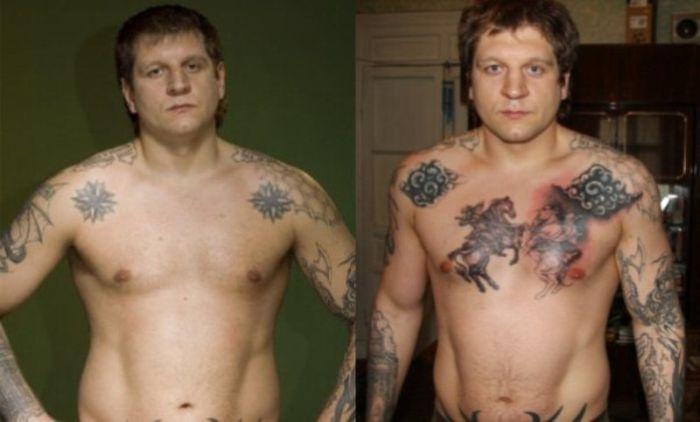 Расшифровка татуировок Александра Емельяненко (9 фото + текст)
