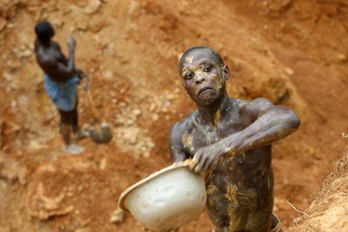 Как добывают золото в Гане (34 фото)