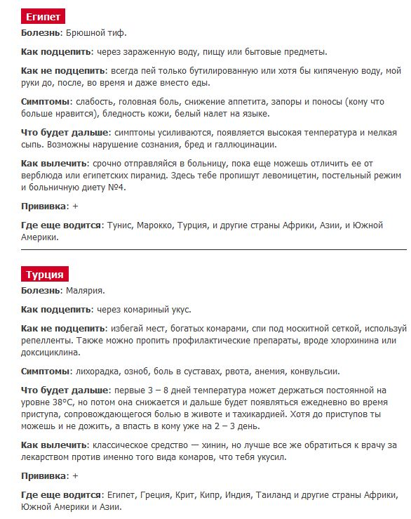 Экзотические заболевания в курортных странах (3 фото + текст)