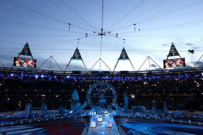 Официальное закрытие Олимпийских Игр 2012 в Лондоне (95 фото)