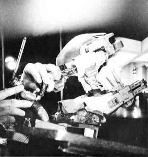 Fotografias detras de camaras robocop