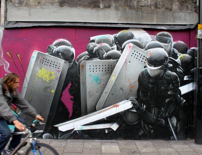 Удивительное уличное искусство (51 фото)